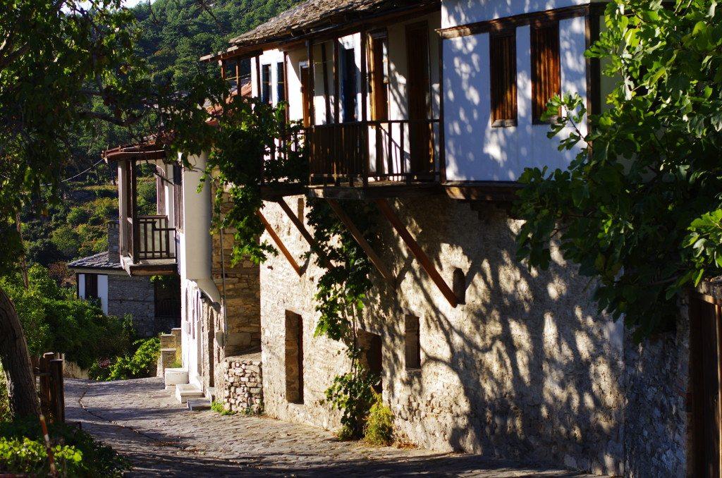 Bergdorf Potamia auf Thassos