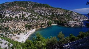 Strand von Livadi