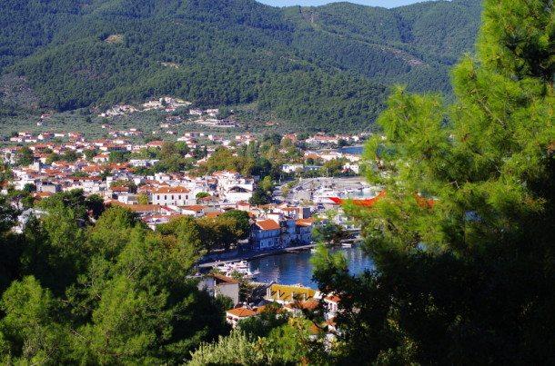 Inselhauptstadt Limenas