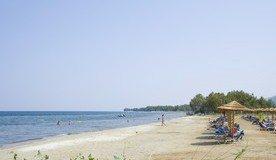 Strand von Skala Prinos